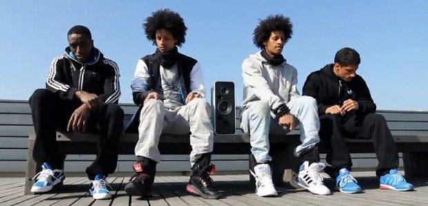 Adidas Megalizer: le sneaker con i sensori musicali