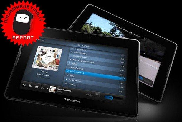 BlackBerry PlayBook: RIM presenta il business tablet