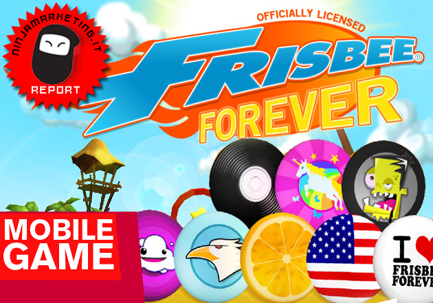 Frisbee Forever: l'app iPhone e iPad dell'estate? [UPDATE]