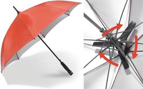 Ombrello con ventilatore: ecco a voi Fanbrella!