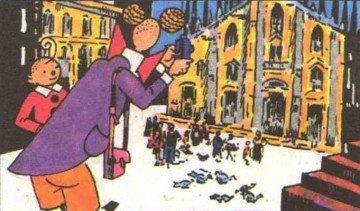 Pisapia VS Moratti, il ballottaggio milanese raccontato attraverso il fumetto.