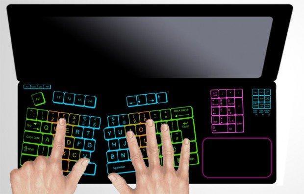 Tastiera touch: ecco a voi Keyless Lifebook!