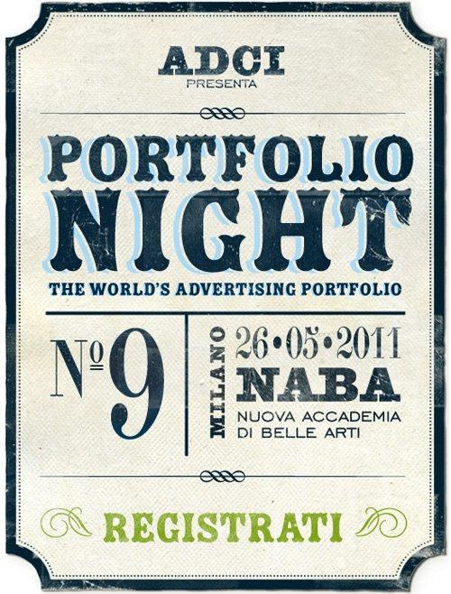 ADCI presenta la Portfolio Night del 26 Maggio