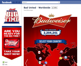 The Big Time: Budweiser lancia un branded social-reality show su Renren e Facebook