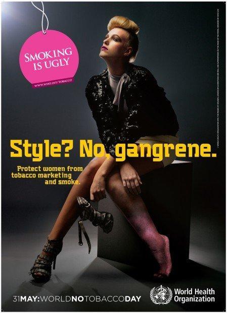 Le migliori campagne pubblicitarie anti-fumo