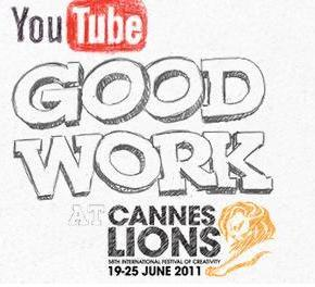 GoodWork: YouTube sbarca a Cannes con un contest benefico