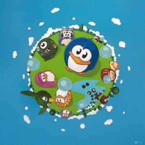 Intervista a Paolo Bordino alias Pao, l'artista dei pinguini metropolitani.