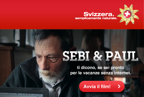 Turismo in Svizzera, il concorso per una settimana liberi da internet e cellulare