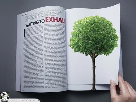 20 Pubblicità creative in doppia pagina