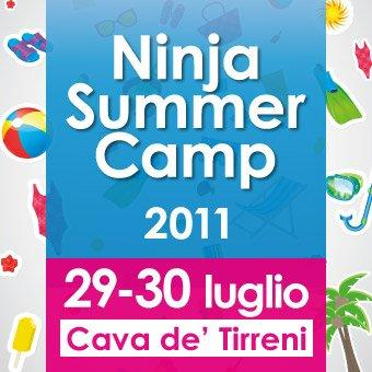 Che fai quest'estate? Vieni al Ninja Summer Camp!