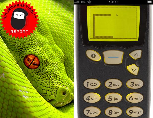 I classic games per iPhone e iPad: Snake