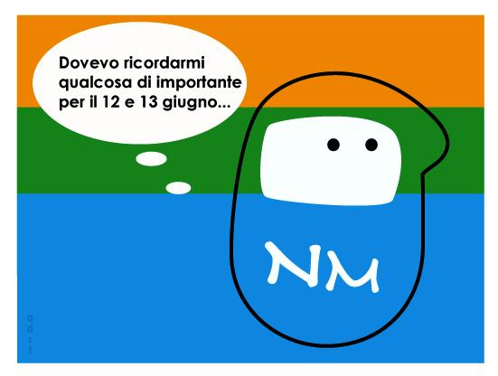 Referendum: anche i ninja votano, parola di Pataniello!