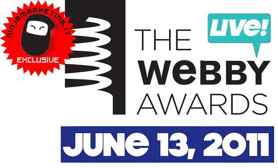 Premiazione Webby Awards: disponibile l'app iPhone e iPad [BREAKING NEWS]