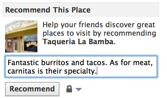 Ancora novità per Facebook Places, per le pagine e per le app