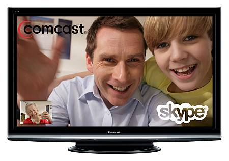 Comcast porta Skype in TV