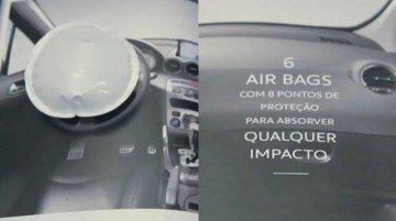 Peugeot 408: prova il mini airbag su carta!