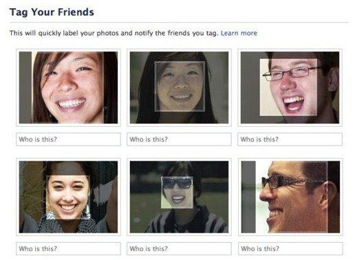 Facebook semplifica i tag con il riconoscimento facciale