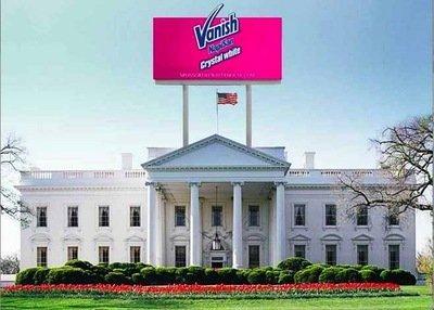 Vanish NapiSan, sponsor per la Casa Bianca