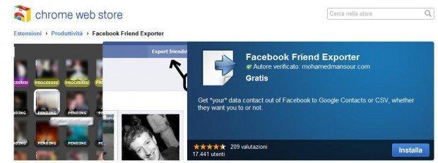 Google+: Facebook blocca l'estensione di Chrome per l'importazione dei contatti [BREAKING NEWS]