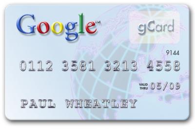 Nasce la prima carta di credito Google