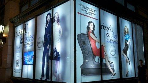 Ambient Marketing in vetrina a New York con Rizzoli & Isles