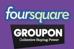 Foursquare aggiungerà offerte da Groupon e da altri