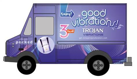 """Trojan porta """"buone vibrazioni"""" per le strade di New York"""