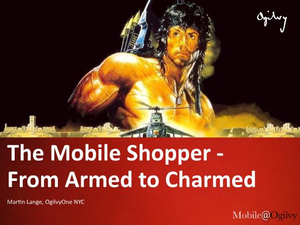 Mobile Shoppers: Ogilvy ci racconta chi sono e come conquistarli [SLIDES]