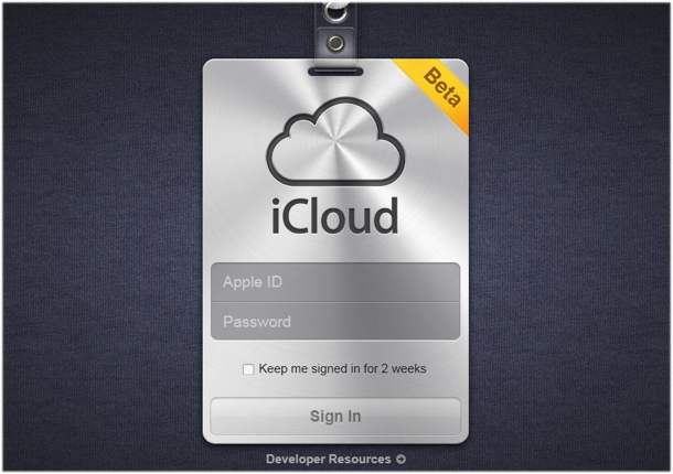 iCloud Beta: rilasciata la versione per gli sviluppatori