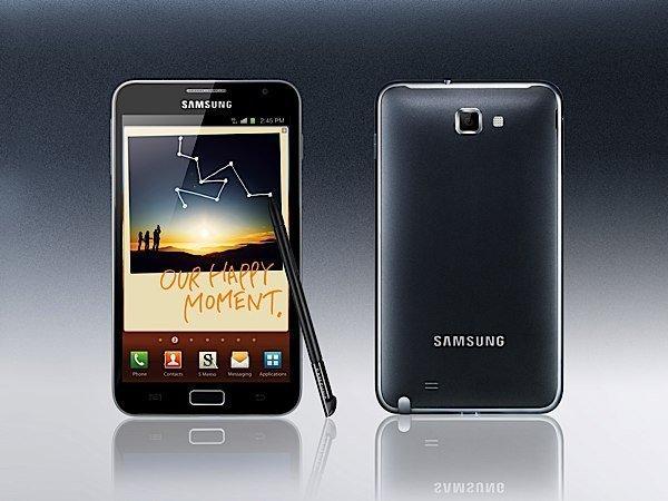 Samsung scommette sul Galaxy Note