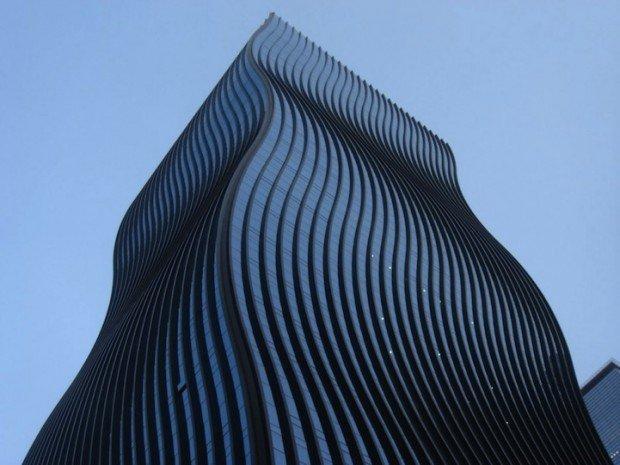 Il grattacielo ondulato di Seoul