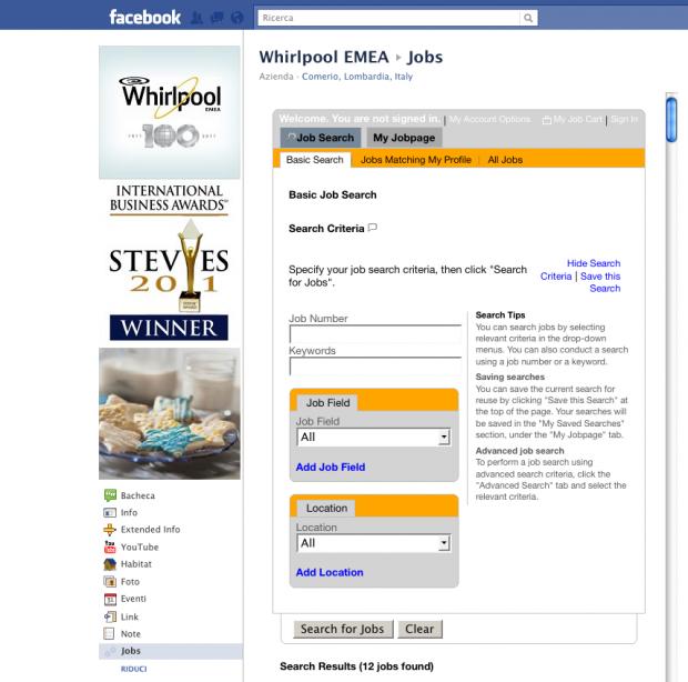 Whirlpool lancia una miniserie e cerca i manager di domani su Facebook