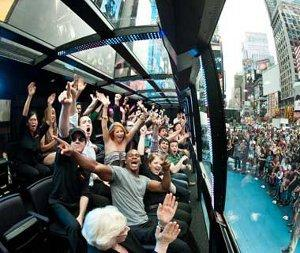 "I tour ""The Ride"" a New York: il turismo diventa esperienza teatrale"