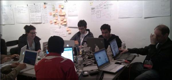 Giovani startupper al lavoro