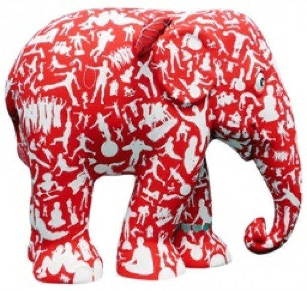 Virgin Active porta l'Elephant Parade a Milano