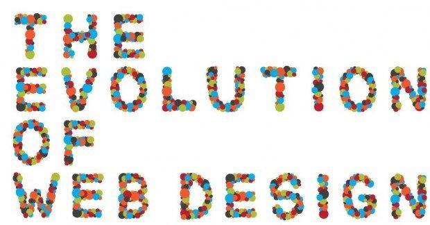 L'evoluzione del Web Design [INFOGRAFICA]