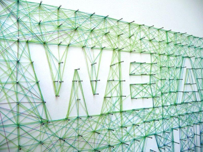 La tipografia tattile unisce le parole con la creatività