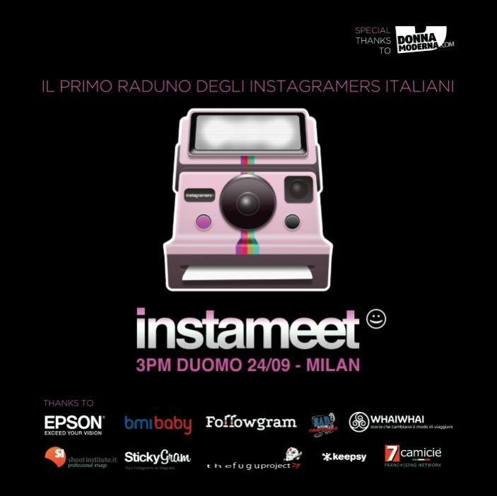 Cosa c'è il 24 settembre a Milano? Il primo InstaMeet italiano! [EVENTO]
