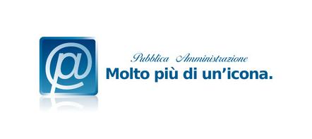 Il nuovo logo del Ministero per la Pubblica Amministrazione e l'Innovazione sembra venuto dal passato