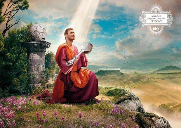 Campagna abbonamenti Sky Sport 2011, la pubblicità dei miracoli
