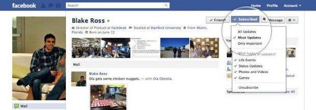 """Facebook, cosa cambia con """"ricevi gli aggiornamenti"""" e le """"liste intelligenti"""""""