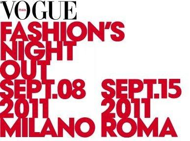 Fashion victim di tutt'Italia unitevi: arriva il Vogue Fashion's Night Out! [EVENTO]
