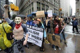 L'occupazione di Wall Street comincia su Facebook