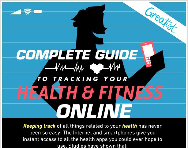 Mettersi in forma e perdere peso con lo smartphone [INFOGRAFICA]