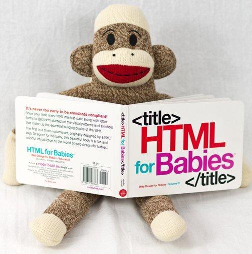 Html for babies: un book per mettere sulla buona strada i più piccini
