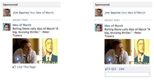 Facebook lancerà un nuovo tipo di ad