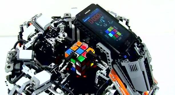Il cubo di Rubik risolto da Cube Stormer II