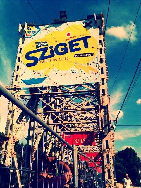 Ricordando l'estate: Sziget Festival, il racconto del vincitore del contest Ninja Marketing!