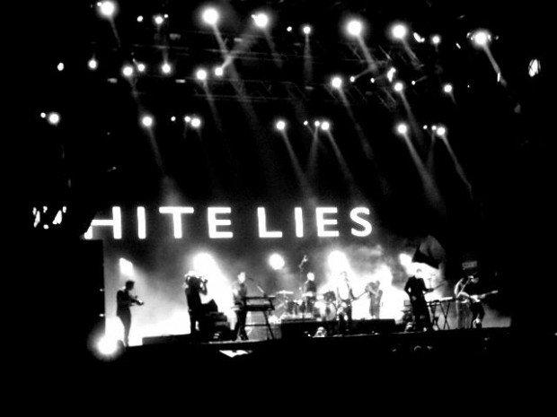 White Lies @ Sziget Festival 2011