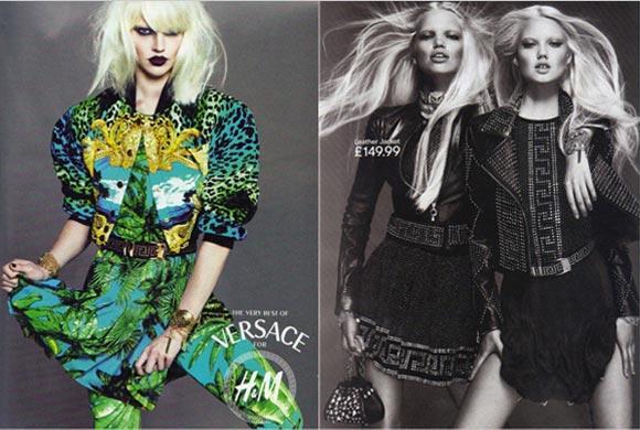 La prima adv Versace per H&M